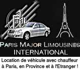 Paris Major Limousines : Location de limousine, minibus, berline avec chauffeur à Paris, en Province et à l'international